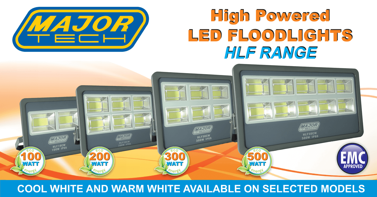 High Powered LED Floodlights