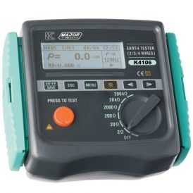 Earth Resistivity and Resistance Tester