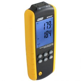 Dual Channel Digital Thermometer Data Logger
