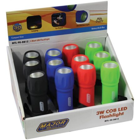 3W COB LED Flashlight