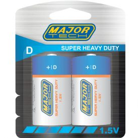 D Super Heavy Duty Batteries