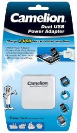 Dual USB Power Adaptor