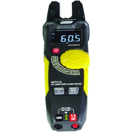 200A AC Open Jaw TRMS Clamp Meter
